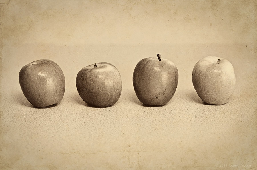 Four Apples